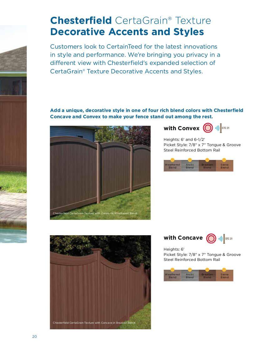 Cape Cod Vinyl Picket Fence Concave With Images Vinyl Picket Fence Backyard Design