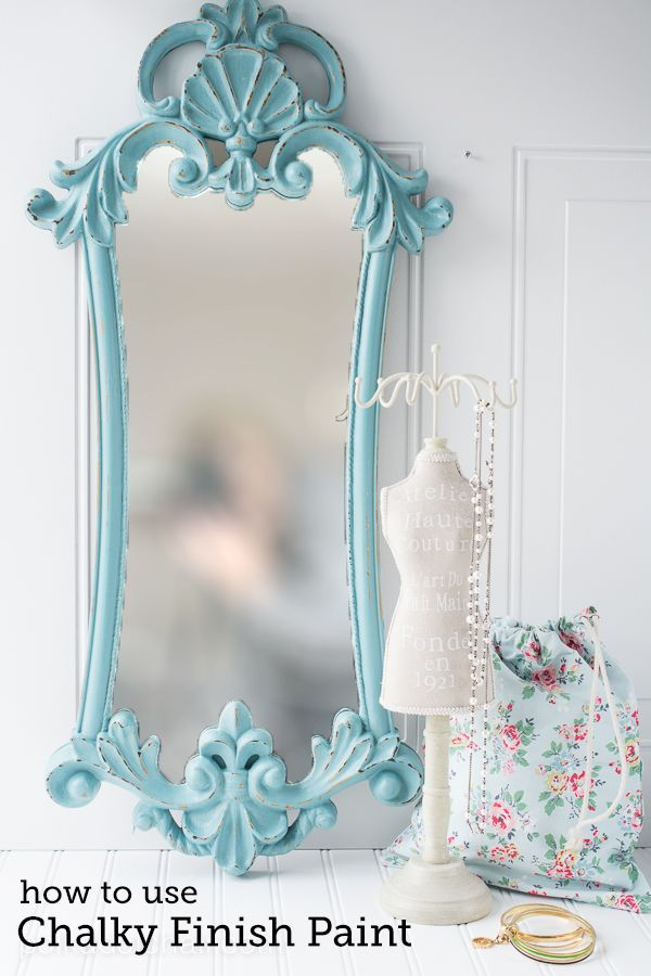 How to use Chalky Finish Paint | Bloggers\' Best DIY Ideas ...