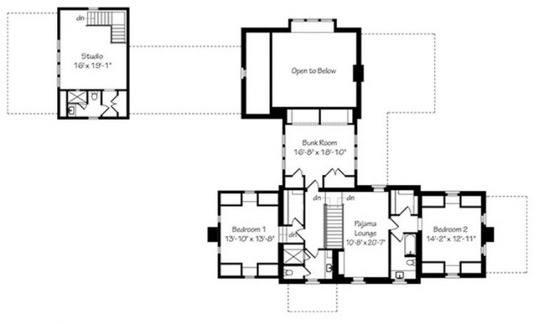 Fox Hill house plan upper level Southern Living | ideas | Pinterest ...