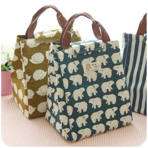 Animal Theme Extremely Creative Lunch Bags Cute Women Lovely Good Insulated Bag Delicate Useful Family