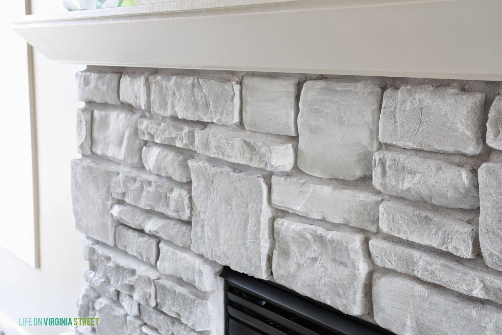 Excellent No Cost pebble Stone Fireplace Tips I finally finished my fireplace Without any further delay here is how it looks now But first a
