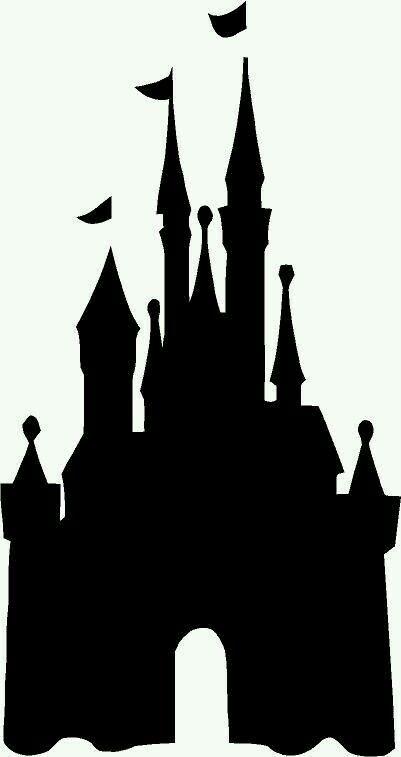 Chateau Disney Disney Castle Silhouette Disney Silhouettes Castle Silhouette