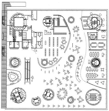 Pin By Matt Coldicutt On Esac Toyo Ito Library Plan Public Library Design