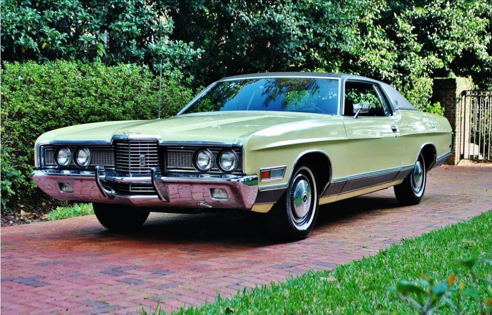 1972 Ford Ltd Brougham With Images Ford Ltd Classic Cars Old