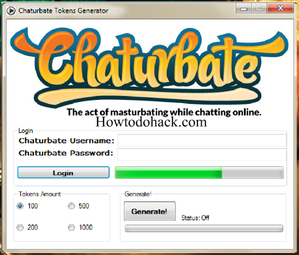 free tokens chaturbate