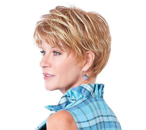Toni Brattin Prestigious Short Cut Wig Page 1 Qvc Com