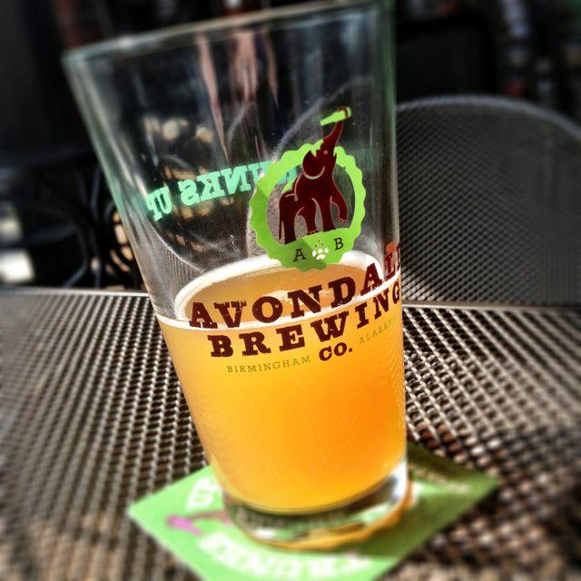 Avondale Birmingham Al: Peach Saison At Avondale Brewing Co., Birmingham, Alabama