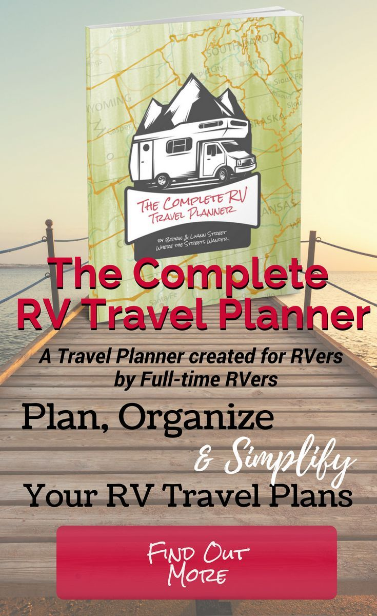 the complete rv travel planner is a digital download that you can print it helps you rv living pinterest rv travel travel planner and rv