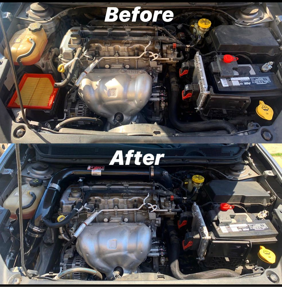 Injen Cold Air Intake Dodge Dart 2 0l Non Turbo 13 16 Polished Black Cold Air Intake Dodge Dart Turbo