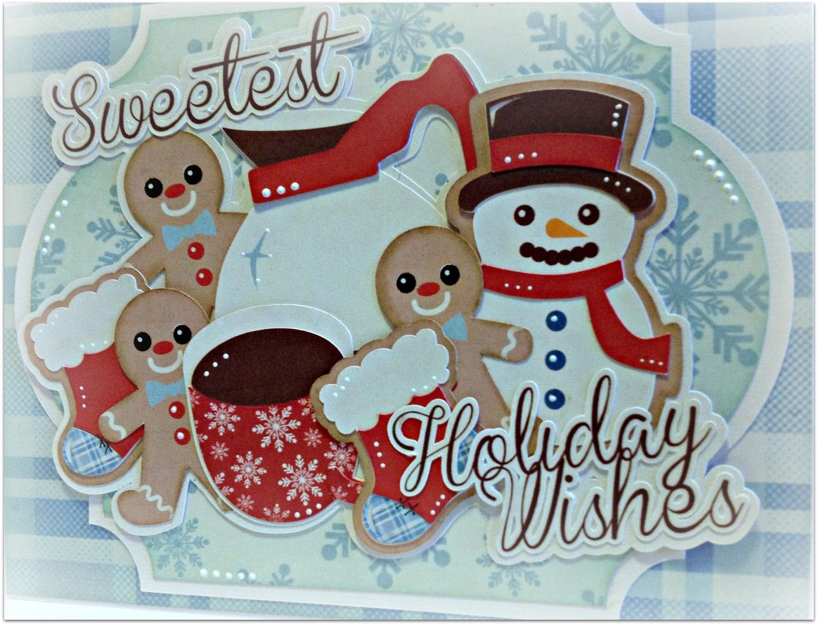 Hi fellow crafters.. It's Nanné here today to share a cute little Xmas card I created using some of the fun cutting files from the Prett...