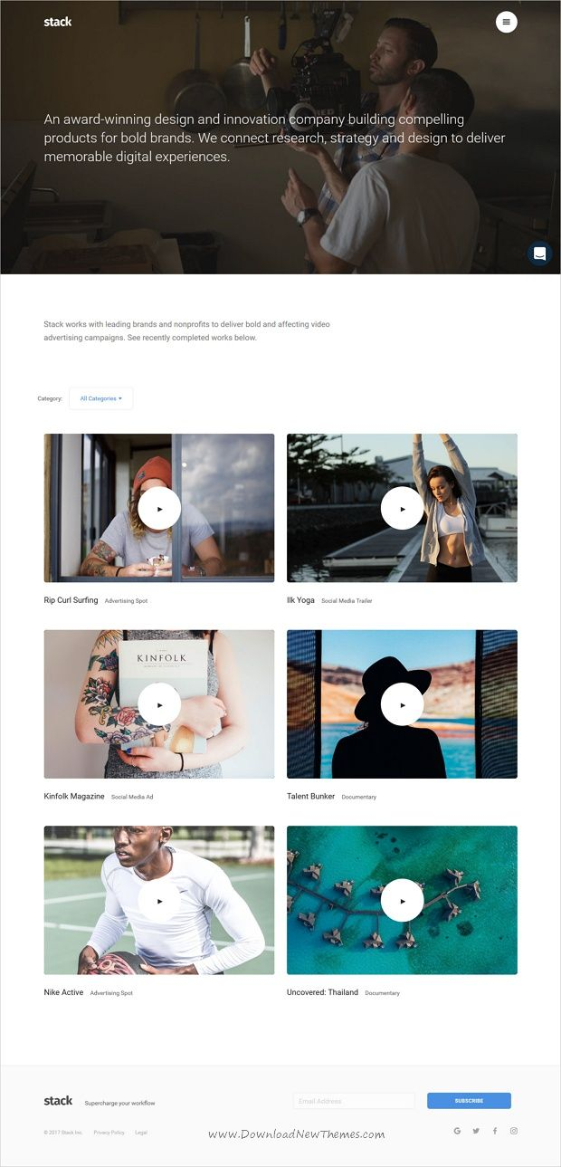 Stack Is A Robust Flexible Responsive Html Bootstrap Template For
