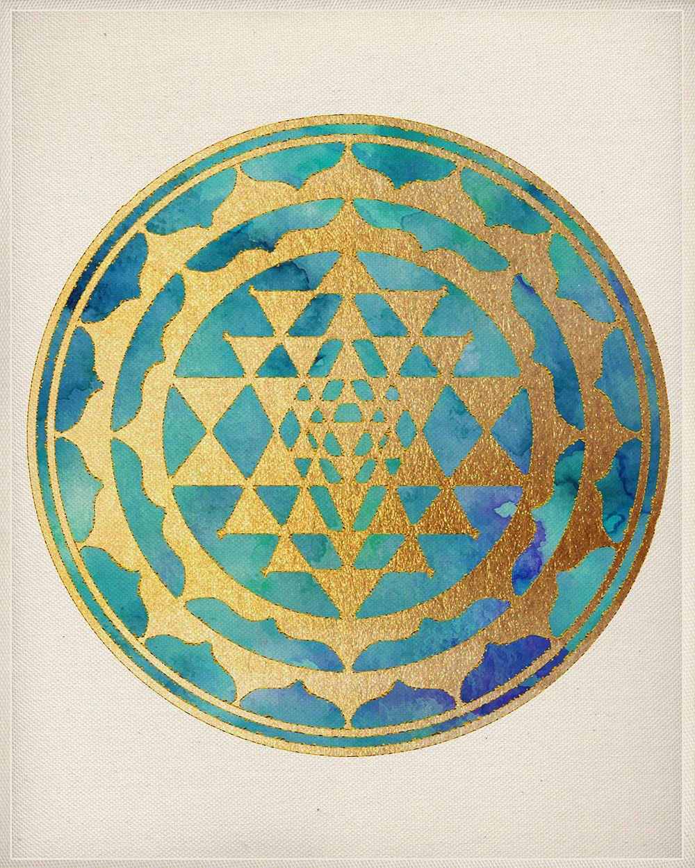 Lotus Mandala, Watercolor Art, Mandala Wall Art, Mandala Home Decor ...