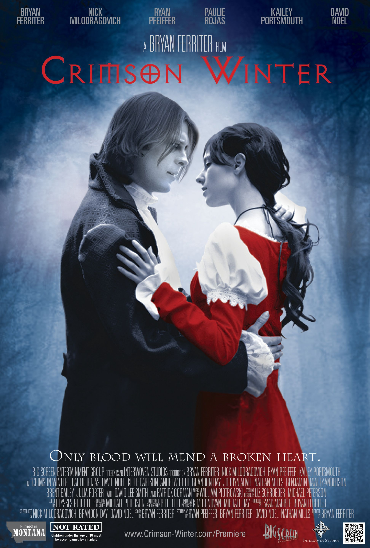 The First Of A Trilogy Crimson Winter Follows A Vampire