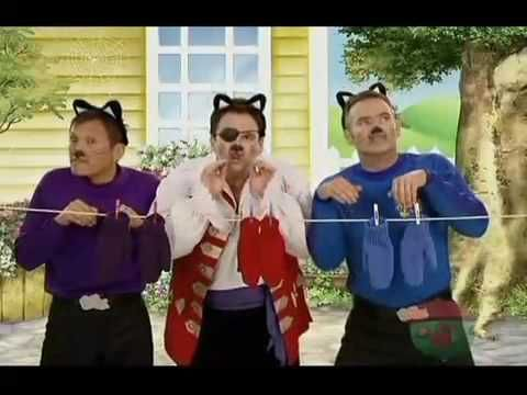 The Wiggles Three Little Kittens Youtube Kids Songs Kitten