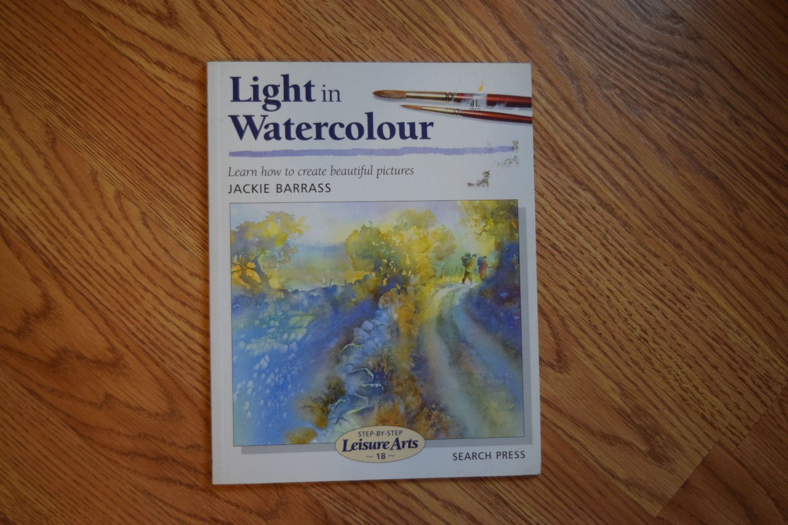 Watercolor books by search press - Light In Watercolor By Jackie Barrass