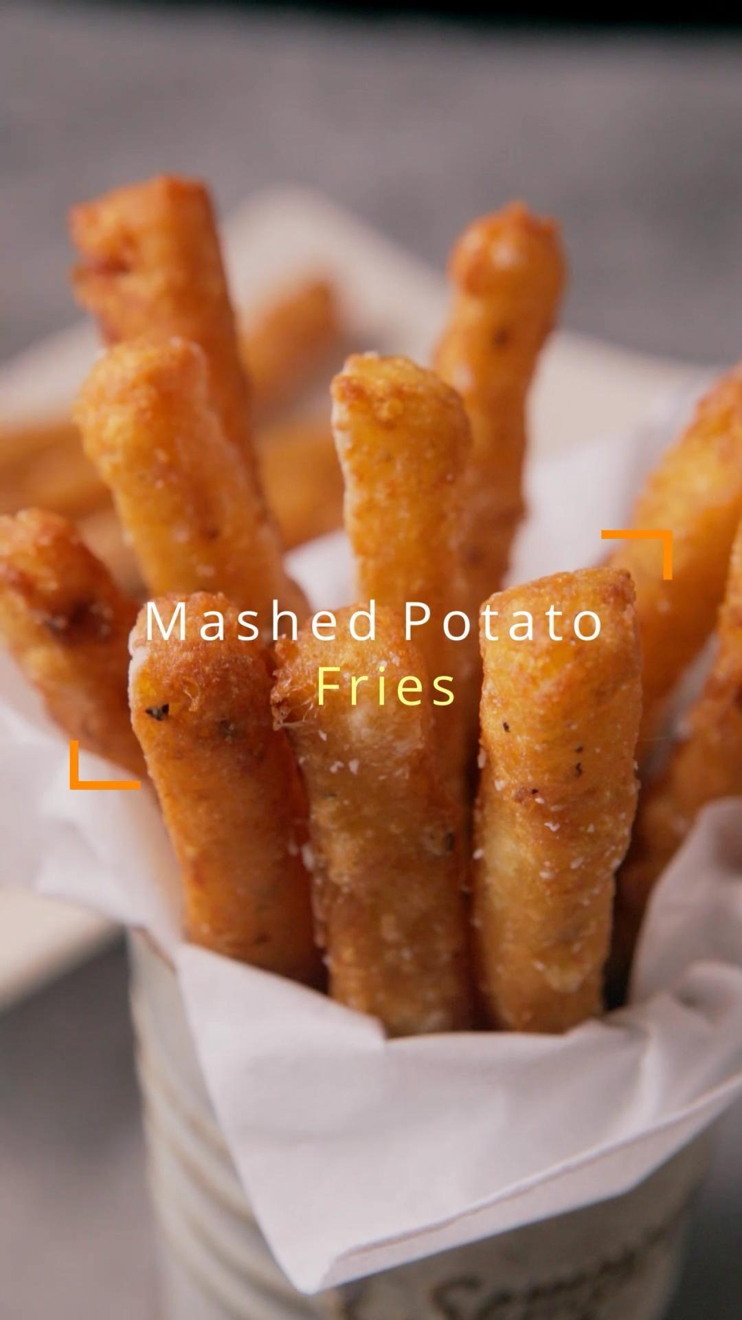 Long Mashed Potato Fries