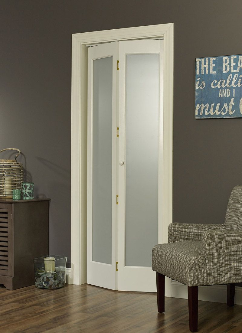 Bi fold doors for bathroom - Shop Our Full Frosted Glass Decorative Bifold Door Discover How This Bifold Can Provide Privacy While Allowing Light To Filter Through Into Your Rooms
