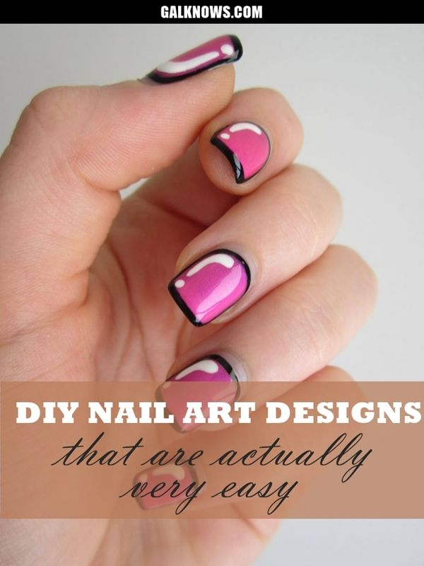 60 diy nail art designs that are actually very easy gel nail art 60 diy nail art designs that are actually very easy prinsesfo Image collections