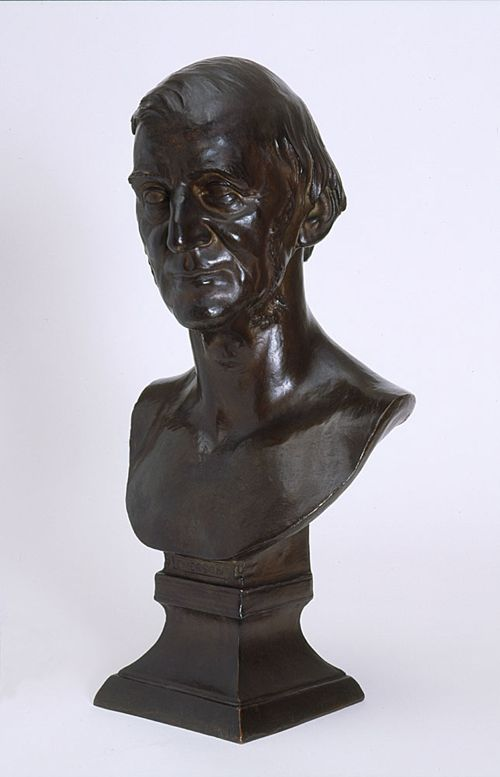 Memorial Art Gallery Collection-Bust of Ralph Waldo Emerson, 99.2
