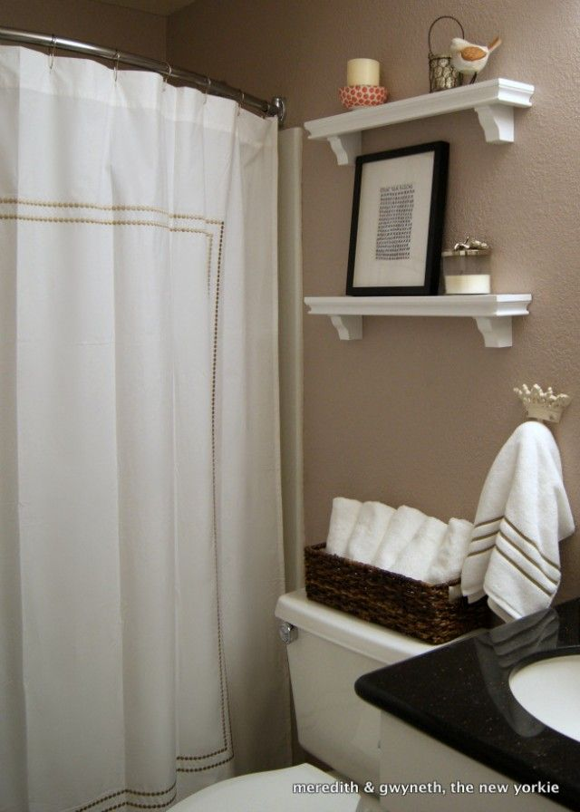 Tiny Cottage Bathroom Basket To Hold Hand Towels On Back Of - Bathroom hand towel basket for small bathroom ideas