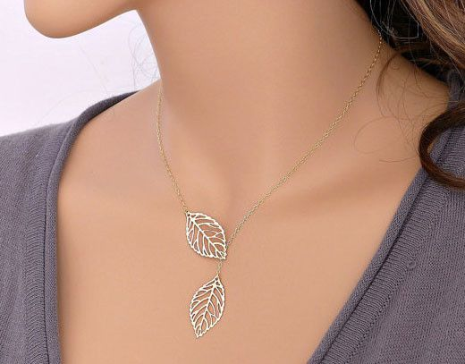 Cupshe Boutique Leaves Pendant Necklace $3.99