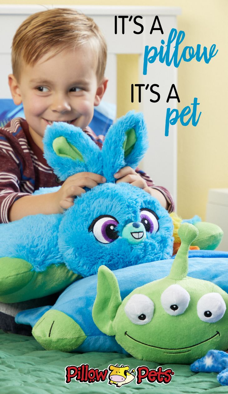 The cutest Toy Story 4 Pillow Pets are here. These plush