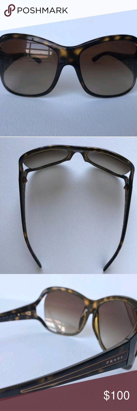 820adcc1f7 get prada spr05l havana brown authentic prada sunglasses spr05l in havana  brown model spr05l color b5c11