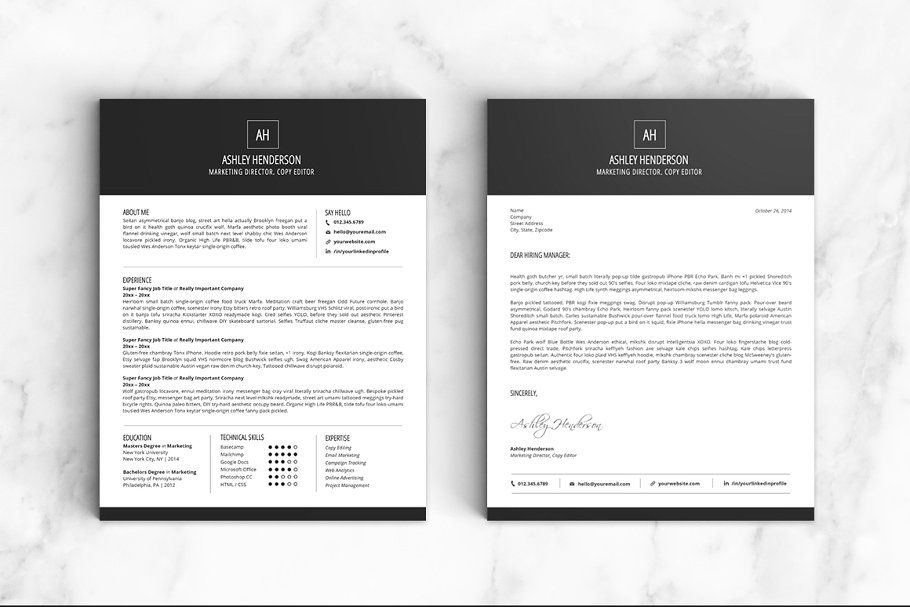 Resume Template The Ashley #Template#Resume#Templates#Ashley - Copy Editor Resume