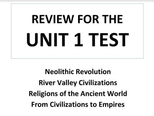 Neolithic Revolution & Rise Of Civilizations