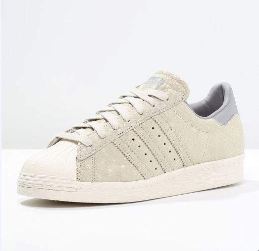 56fda38b11e Adidas Originals SUPERSTAR 80S Baskets basses clear grey/light onix prix  promo Baskets femme Zalando 120.00 €