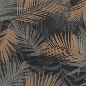 Graham & Brown Black and Gold Honolulu Wallpaper 32970 in