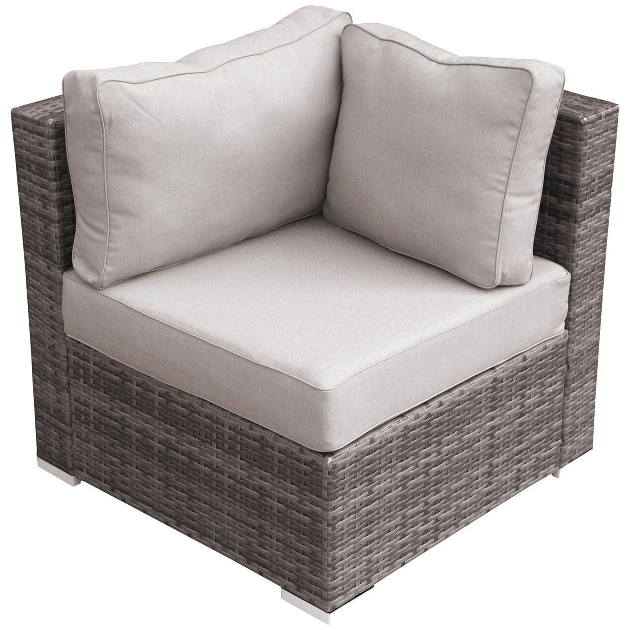 Weston Ii Corner Chair In 2020 Corner Chair Gray Patio Furniture Furniture