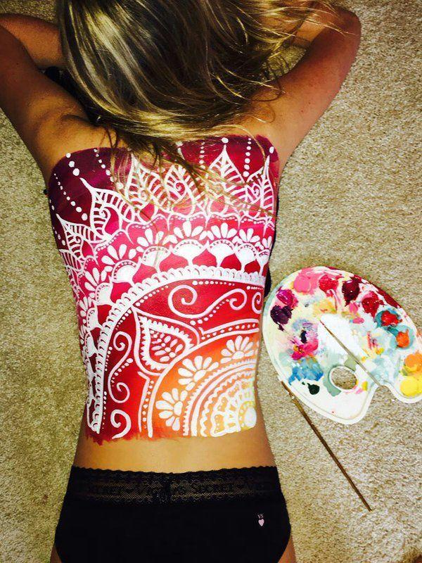 Body Art Bemycanvas Twitter Ad Body Art Painting Body Painting Body Art Tattoos