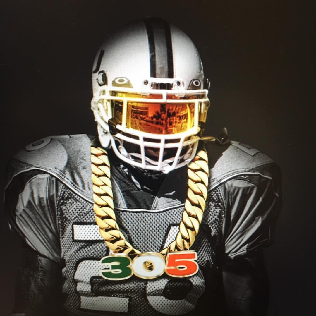 Turnover Chain Tee Miami Hurricanes Football Hurricanes Football University Of Miami Hurricanes