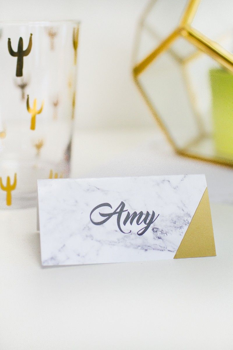 graphic regarding Gold Printable Place Cards named Free of charge PRINTABLE House NAMES etsy retailer strategies Card desk