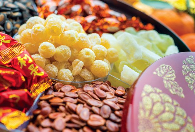 traditional chinese new year foods - Chinese New Year Food
