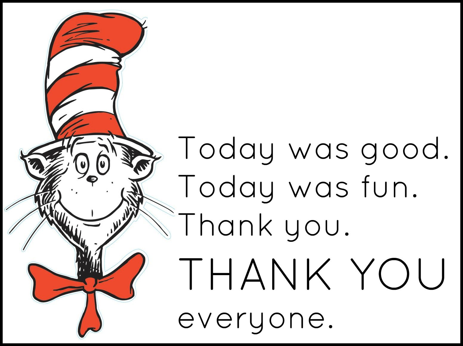 Beach Pail Party Favors Saying Thank You For Coming: Dr. Seuss Day Or Party