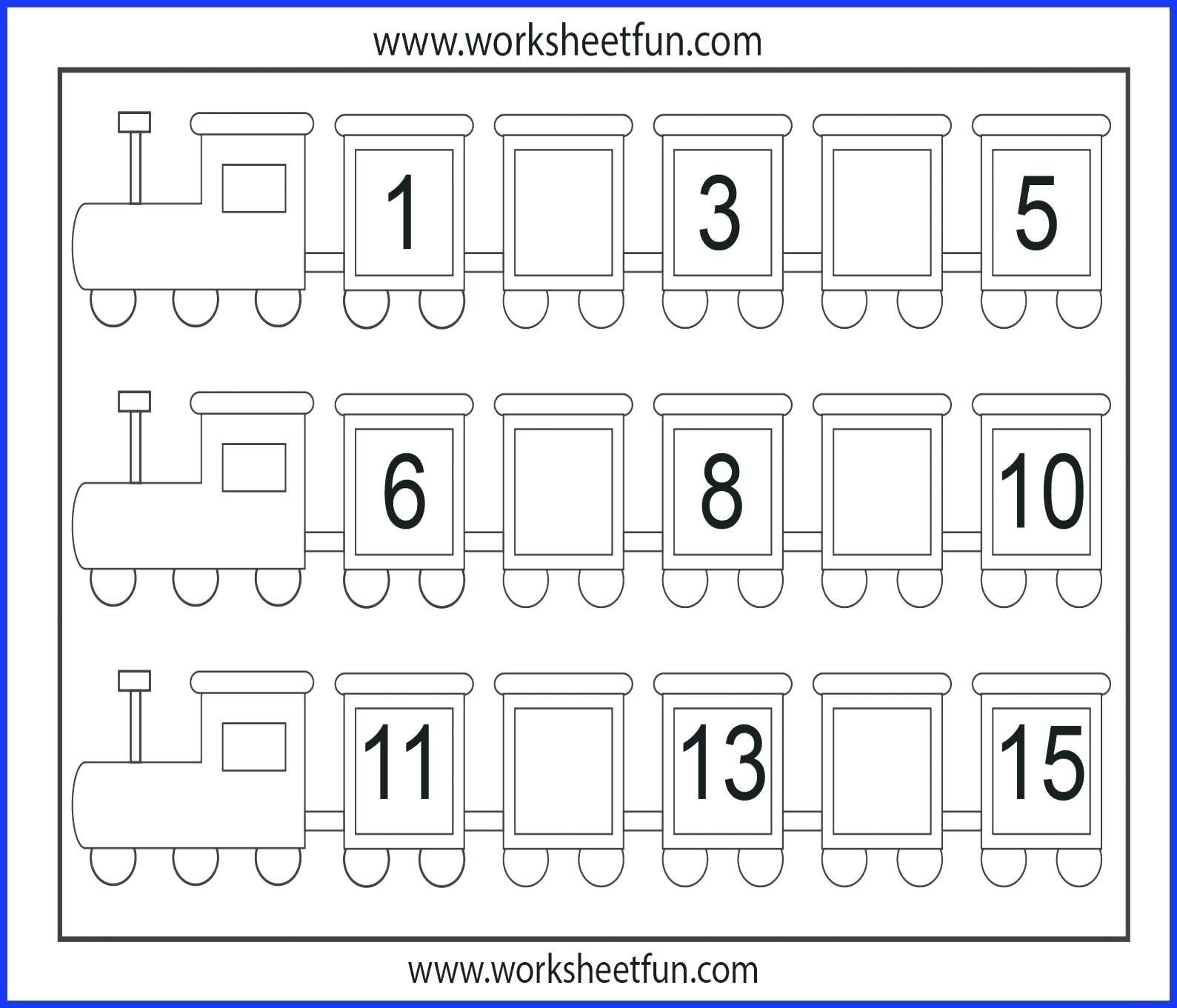 Number 1 Worksheets For Download Number 1 Worksheets Math Free