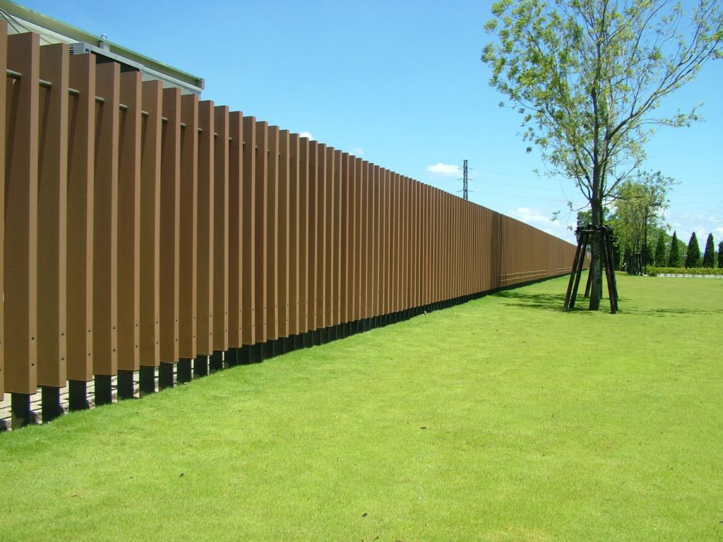 fence resistance composite wood fence | Wall panels, Low ...