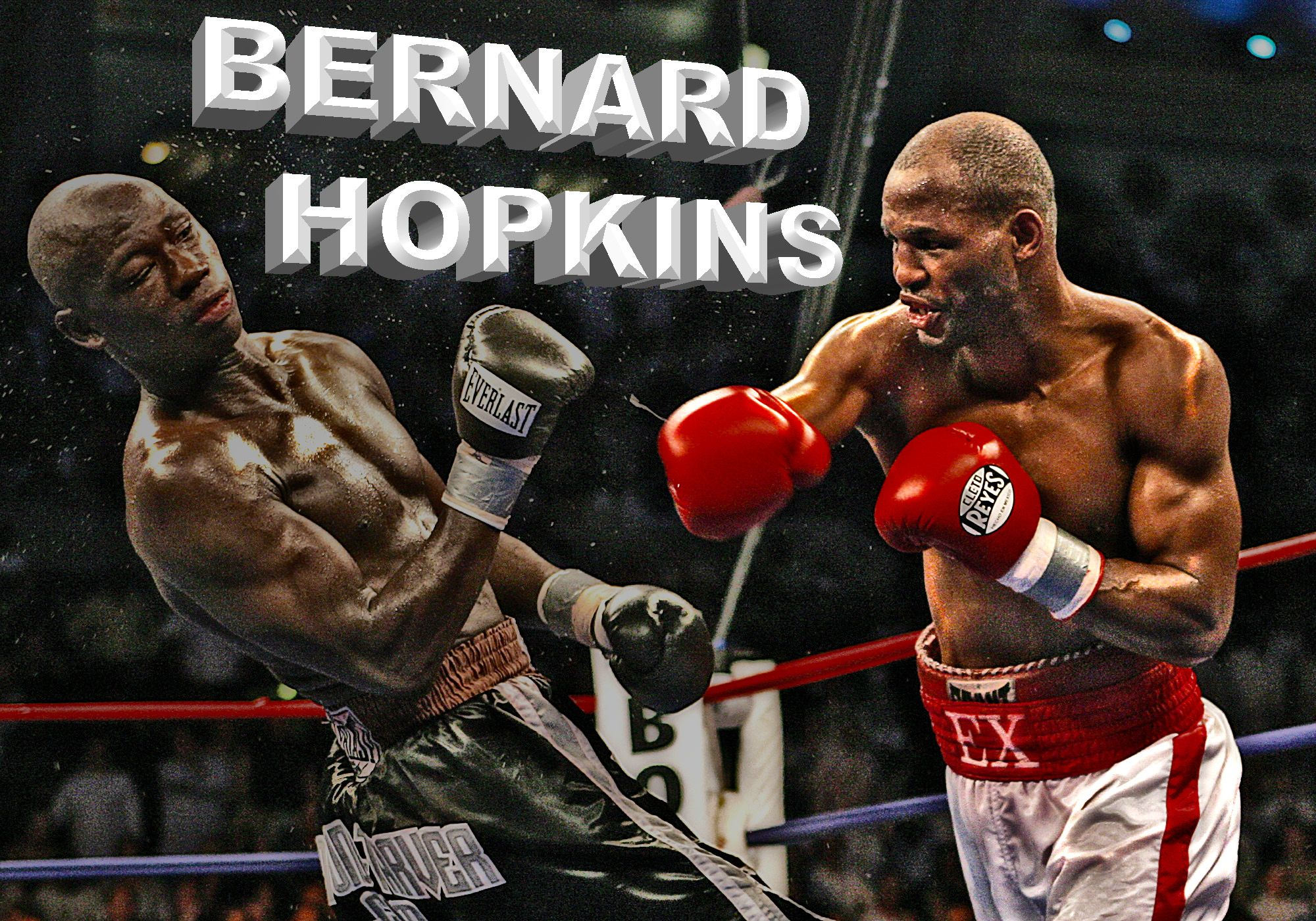 Bernard Hopkins, who is still a boxing world champion nearing the age of 50.