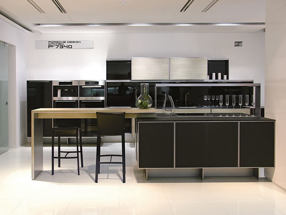porsche design kitchen at the new poggenpohl south korea showroom küchen design design küche on kitchen decor korea id=51166