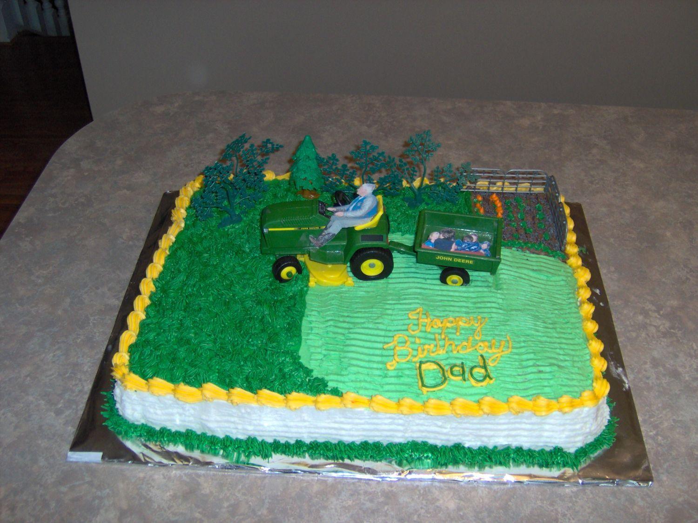 Lawnmower Cake Ideas