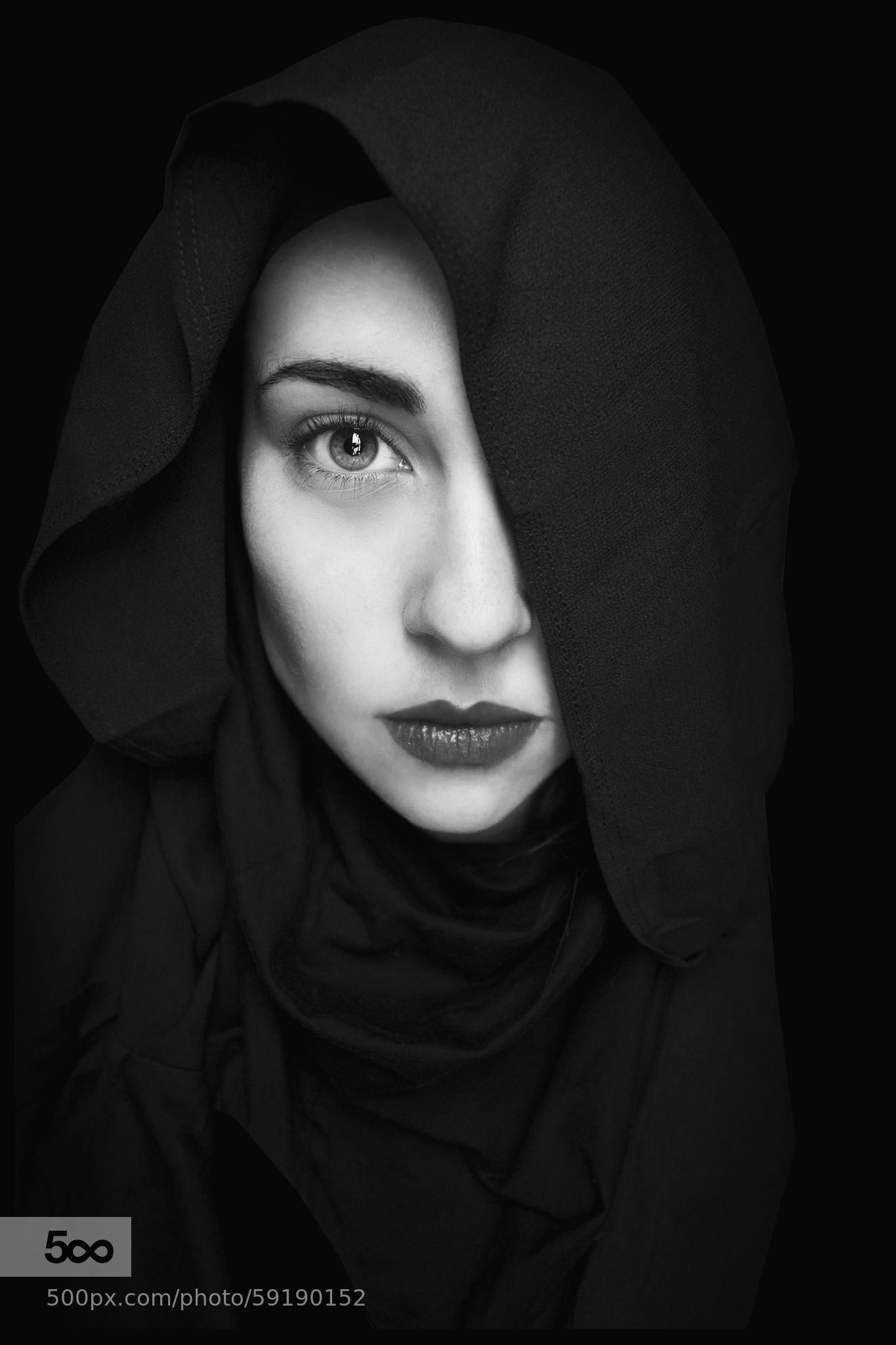 Photograph black is my colour by marianna roussou on 500px