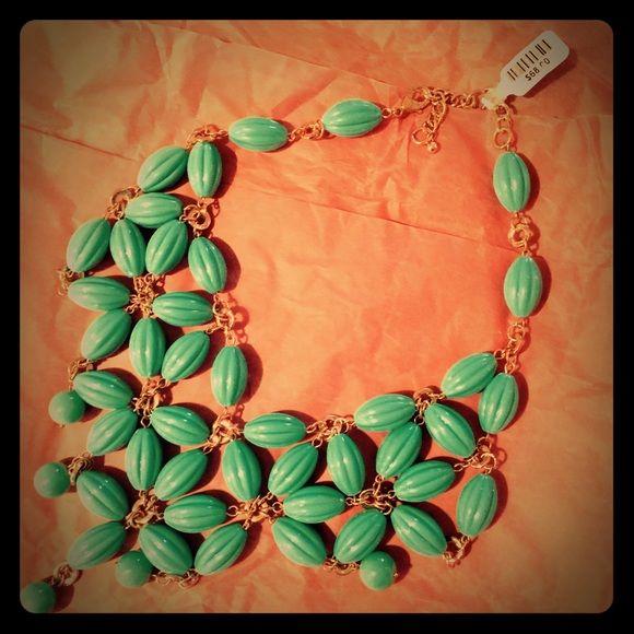 Selling this ⚡️Reduced!⚡️anthro   beaded flower bib necklace in my Poshmark closet! My username is: sweatstyle. #shopmycloset #poshmark #fashion #shopping #style #forsale #Anthropologie #Jewelry