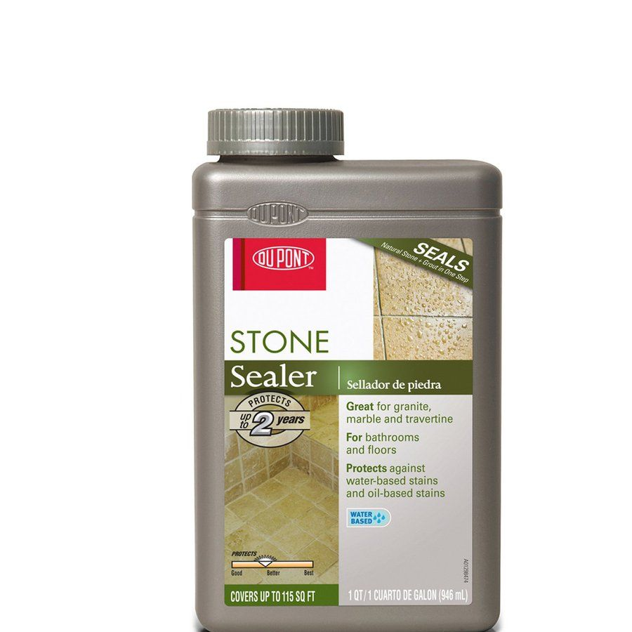 Shop Dupont Stone Tile Sealer At Lowes Small Space Guest
