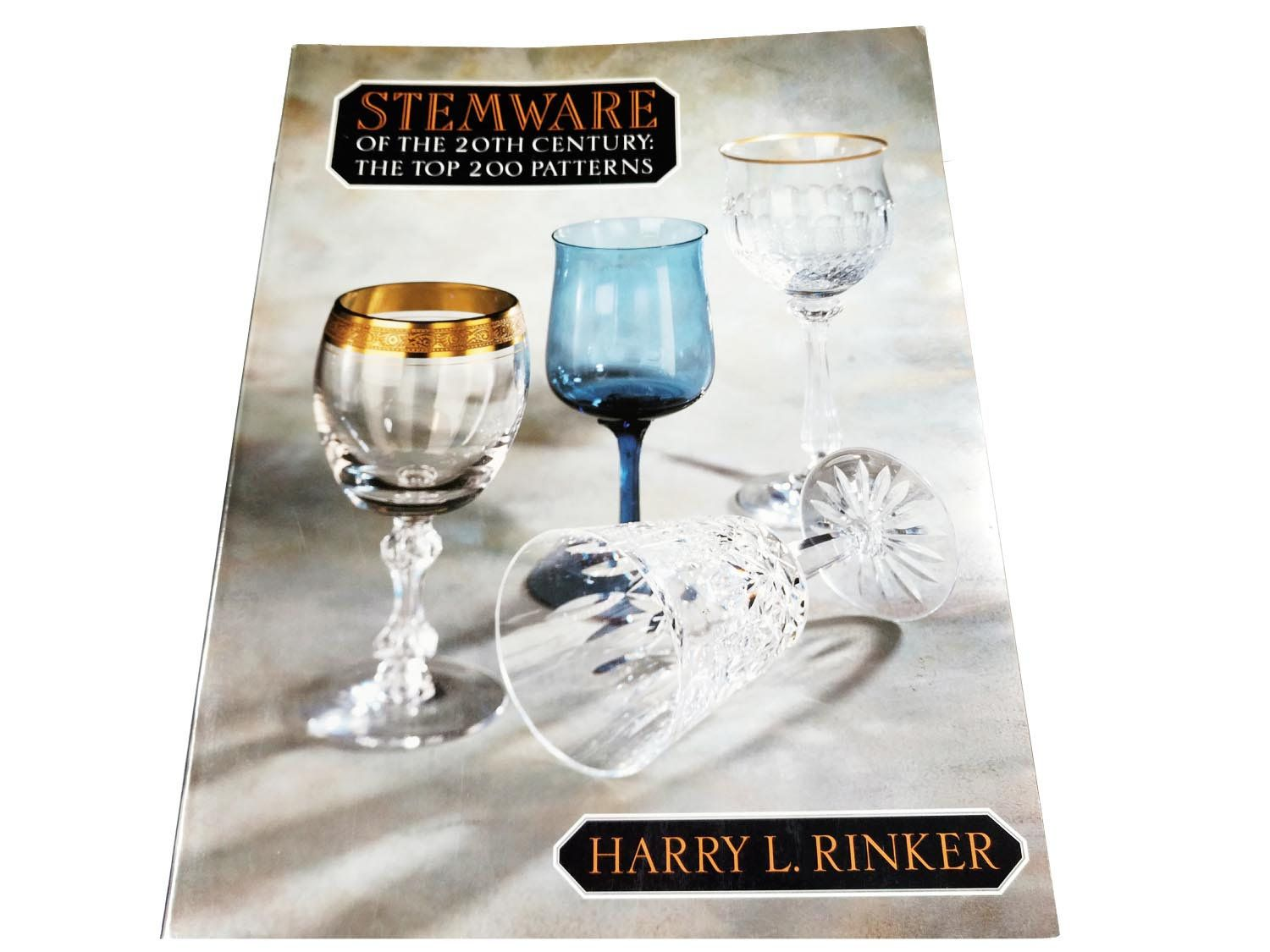 High End Crystal Wine Glasses Stemware Of 20th Century Harry Rinker Stemware Identification