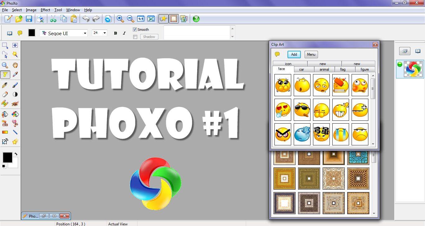Tutorial Phoxo 1 Aprendiendo A Disenar Y Editar Clip Art Meru Tutorial