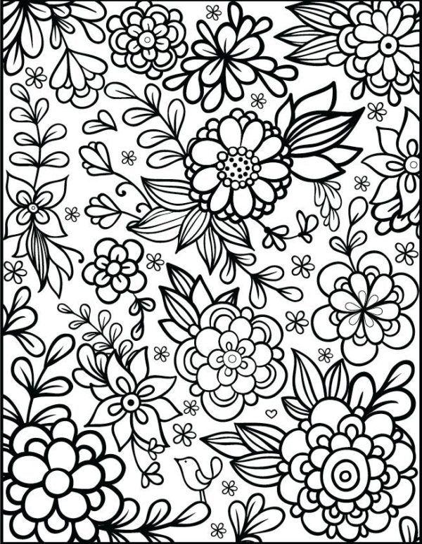 80 Mandalas Con Flores Para Colorear Disenos Inspiradores