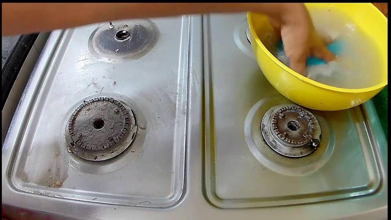 Como Limpiar Tu Estufa De Forma Rápida Con Bicarbonatovinagre