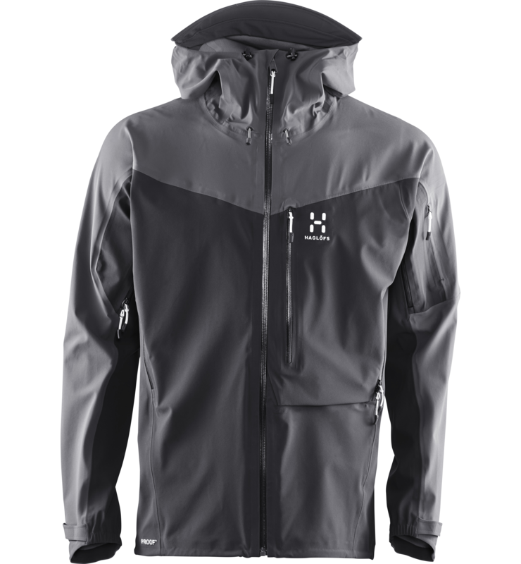 43ecc931 Designed with ski touring in mind, our hooded Touring PROOF® jacket feels  like a second skin. Its stretch laminate fabric offers excellent movement  and ...